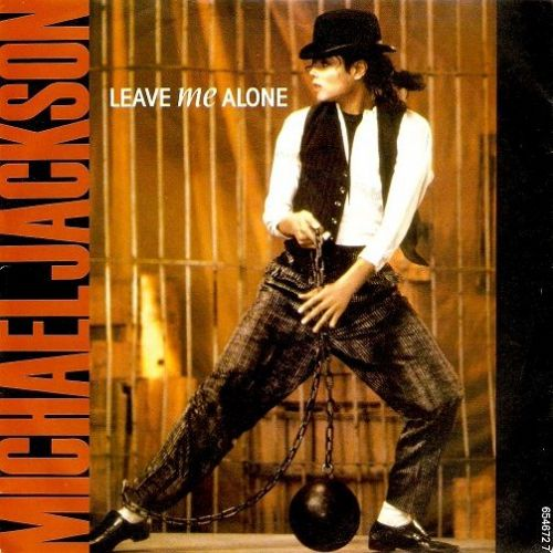 MICHAEL JACKSON Leave Me Alone Vinyl Record 7 Inch Epic 1988
